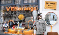 VEB Orange Berlin. Secondhand shop. #Berlin #Orange #secondhand