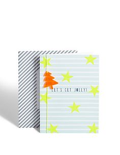 Designer Collection Let's Get Jolly Christmas Card Home