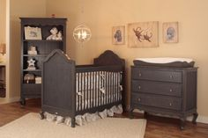 Project Nursery - Hilary Crib Room by Newport Cottages