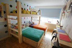 【海外発!】兄弟でシェアする子供部屋のインテリア事例~ベッドのレイアウト編   スクラップ [SCRAP]