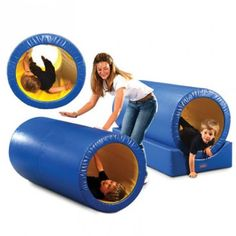 Also a good tunnel because it is nice and sturdy! Roller Tunnel by ROMPA® | Snoezelen® Multi Sensory Rooms and Sensory Equipment | Rompa