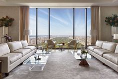 A New York Penthouse 1,000 Feet Above Street Level Fetches $50 Million-Plus