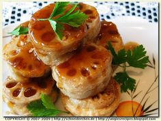 Lotus Root Sandwiches