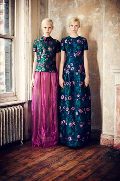 Double the models, double the prints for Erdem pre-fall