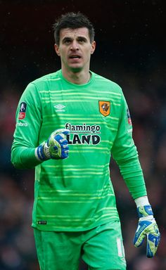 Arsenal 0 Hull City 0: Eldin Jakupovic, the Hull City goalkeeper, was the hero in the FA Cup Fifth Round tie at the Emirates