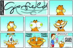 Garfield | Daily Comic Strip on April 8th, 2018