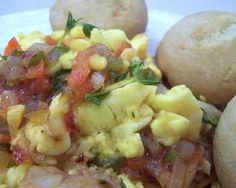 My Favorite Breakfast: Ackee and Saltfish with Fried Dumplings