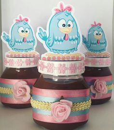 Ideas Para Fiestas, Candy Colors, Jar, Cold Porcelain Ornaments, Fiesta Decorations, Custom Crates, Kids Part, Ideas, Owl Bird