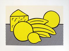 Roy Lichtenstein, 'Yellow Still Life, from Six Still Lifes', 1974