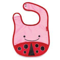 Skip Hop Mama Önlüğü - Uğurböceği #beslenme #çocuk #bebek #skiphop