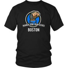 March For Our Lives Boston Tee Shirt