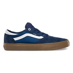 71aaadba62ba1e Gilbert Crocket's signature Gilbert Crockett Pro, a suede and canvas upper  with Vans classic side stripe, features UltraCush HD for the highest level  of ...