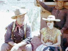 Exclusive John Wayne Rare Historical Photos you must see. In celebration of what would have been the star's birthday (May We look back on the Duke. John Wayne Wife, Wayne Enterprises, Rare Historical Photos, Maureen O'hara, The Searchers, Interview, John Ford, Hollywood Men, American Legend