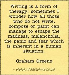 Quotable - Graham Greene - Writers Write Creative Blog