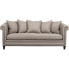 Slightly obsessed...  Tailor Sofa in Sofas | Crate and Barrel