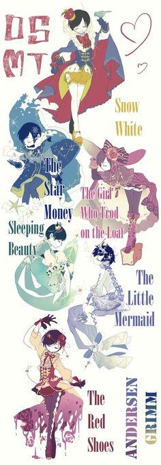 Osomatsu - san fairytales