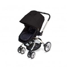 The JJ Cole Broadway Stroller easily converts from bassinet mode to a toddler seat for fashionable versatility.