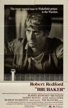 Brubaker (1980) Original One-Sheet Movie Poster