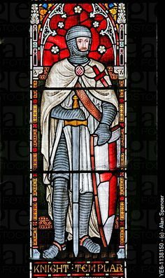 Knights Templar, Church of St Andrew, Temple Grafton, Warwickshire.