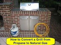 Convert a Grill from propane to natural Gas