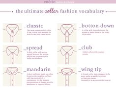True Blue Me & You: DIYs for Creatives • DIY UltimateKnow Your Collars and Cuffs Guide...