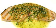 Recetas Monsieur Cuisine: Salsa para Emperador a la Plancha