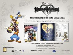 Kingdom Hearts 15 Remix Limited Edition EU Pal version * Read more  at the image link. Note:It is Affiliate Link to Amazon.
