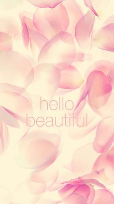 Hello Beautiful Flower Prints iPhone 6 Plus HD Wallpaper Iphone 5s Wallpaper, Wallpaper For Your Phone, Cellphone Wallpaper, Cool Wallpaper, Wallpaper Backgrounds, Iphone Wallpapers, Homescreen Wallpaper, Kitty Wallpaper, Backgrounds Free