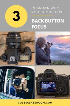 Back button focus allows you to take sharper images when subjects are moving. If you haven't tried it yet, read our 3 reasons why every photographer should be using it. Newborn Photography Tips, Photography Cheat Sheets, Photography Basics, Nikon Photography, Iphone Photography, Photography Business, Creative Photography, Family Photography, Sharp Photo