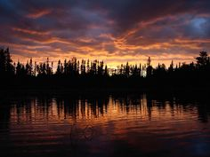 Sunset (BWCA) Boundary Water Canoe Area