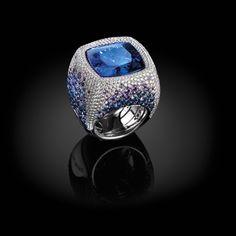 Quadro Classico ring  ~  Palmiero Gioielli Jewellery design from the Captured Stones Collection 2015.