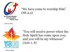 World Youth Day - international celebrations from 1987 to 2013!