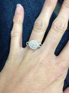 Love my Simon G ring