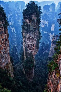 """Ngyen khag taktsang monastery in Bhutan.""   15 Viral Pinterest Photos That Are Actually Fake"