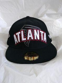 85a44c1447c Atlanta Falcons NFL New Era 59 Fifty Size 7 Fitted Hat Cap Black Red  Football  . Atlanta FalconsCowboy HatsHats For ...