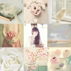 Collage of pastels