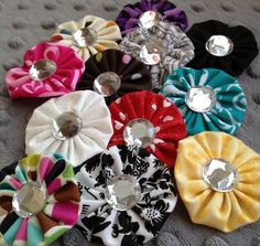 Lillie Clips - Bright Fun Hair Clips For Every Little Girl! 12 Colors to Choose From! Set of 2! | Very Jane