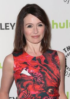 Emily Mortimer at PaleyFest. See all the TV stars who were there when you click through our gallery: