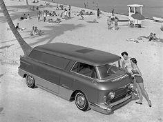 Van-o-tomorrow! 1955.