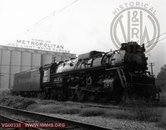 VGN Class BA 507 Right Side 3/4 View at Roanoke,VA Aug. 29,1957