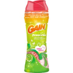 Gain Fireworks in-wash scent booster. I Love, love, love this stuff. Makes the Martinez stinky hard water smell go away!