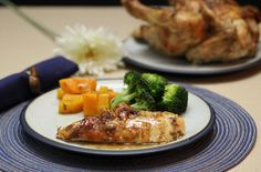 Mustard and Rosemary Roasted Chicken (21DSD-friendly!) - The Paleo Mom paleo dinner salmon