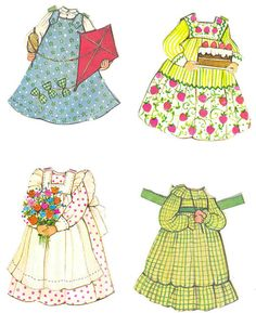 the ginghams paper dolls by sydandgoose, via Flickr