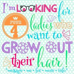 Want long, healthy hair but can't seem to get it to grow?! I can help! I'm looking for FOUR people who would like to become product testers for ItWorks! You will test this product (Hair Skin & Nails by ItWorks) for 90 days and I will track the results! The cost of the product is $33 per month & you get a FREE lifetime membership to all the ItWorks products at my cost! Message me for more info! #ItWorks #allnaturalsupplements   http://jalmond.myitworks.com/