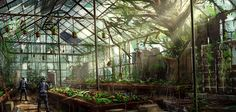 Greenhouse by JoakimOlofsson.deviantart.com on @deviantART
