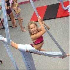 ALDC Doing Tricks on Acro Silks!~ Dance Moms