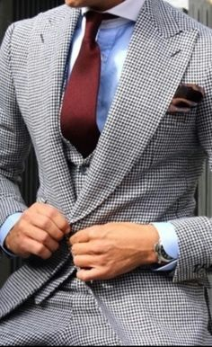 A rich powerful suiting here... Just demands concrete tailoring for the perfect fit!!! | Raddest Men's Fashion Looks On The Internet: http://www.raddestlooks.org