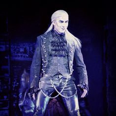 Viscount Herbert Von Krolock from the Russian Production of the German musical Tanz Der Vampire.  A muse in the making...