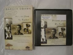 Barack Obama Dreams For My Father Book and Audio Book CD