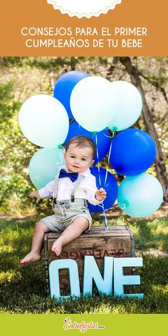 Baby Boy 1st Birthday Party, 1st Birthday Photoshoot, Baby Party, First Birthday Parties, Decoration Photo, 1st Birthday Pictures, Foto Baby, Birthday Photography, Baby Kind